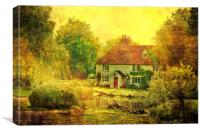 Cage Farm Stowting, Canvas Print