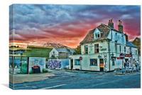 Castle Inn Dover, Canvas Print