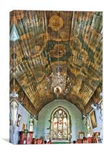 Holy Trinity Queenborough, Canvas Print