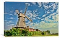 Willesborough Windmill, Canvas Print