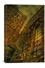 Eastwell Church Ruins, Canvas Print