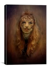 Tiger Within, Canvas Print