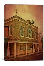 Queenborough Guildhall, Canvas Print