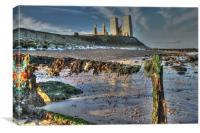 Reculver Beach, Canvas Print