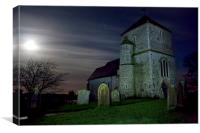 St Mary Kenardington, Canvas Print