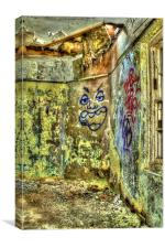 Face In The Corner, Canvas Print