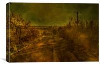 Stoke Road , Canvas Print