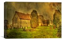 St Peter and St Paul Stoke , Canvas Print