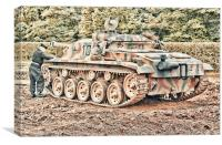 Jagdpanzer, Canvas Print