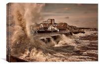Storm Surge , Canvas Print