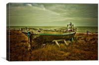 Ship Ashore, Canvas Print