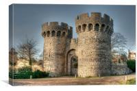 Cooling Castle Gatehouse, Canvas Print