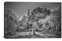 St Catherine Kingsdown From The East, Canvas Print