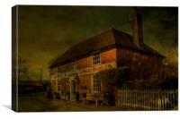 Carpenters Arms Eastling, Canvas Print