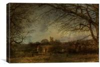 Charing Church Tower, Canvas Print