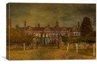 Pett Place Charing, Canvas Print