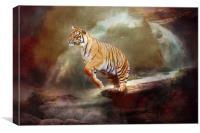 Leap Of Faith, Canvas Print