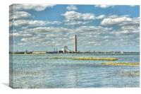 Kingsnorth Power Station, Canvas Print
