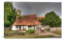 St Mary And The Pest House, Canvas Print
