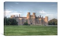 Herstmonceux Castle, Canvas Print