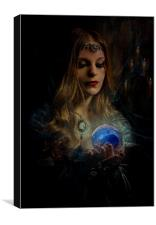 The Clairvoyant, Canvas Print