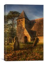 St James Bicknor, Canvas Print