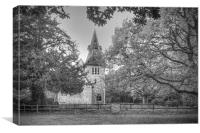 St Margaret Wychling, Canvas Print