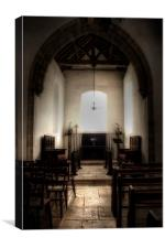 St Benedict Paddlesworth, Canvas Print