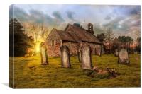St Oswald Paddlesworth, Canvas Print