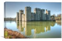 Across The Moat, Canvas Print