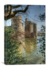 Castle Throught The Trees, Canvas Print