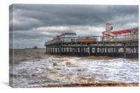 Herne Bay Pier , Canvas Print