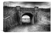 Railway Bridge, Canvas Print