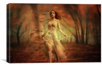 Autumn Winds, Canvas Print