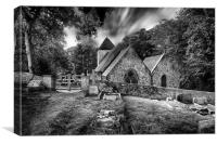 St Laurence Telscombe, Canvas Print