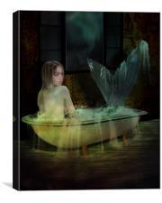 Bathing, Canvas Print
