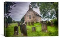All Saints Buncton, Canvas Print