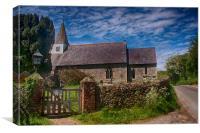 Litlington Church, Canvas Print