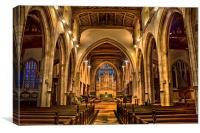 All Saints Maidstone, Canvas Print