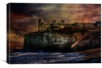 Storm Front On The Seafront, Canvas Print