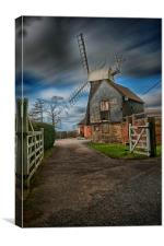 Charing Hill Mill, Canvas Print