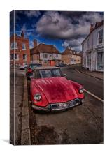 Citroens In Charing, Canvas Print