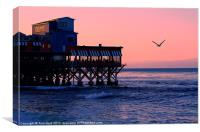 Cannery Row, Monterey, Canvas Print