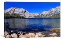 Tenaya Lake, Yosemite, Canvas Print