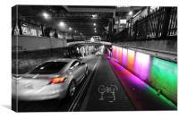 Technicolour Dream Road, Canvas Print