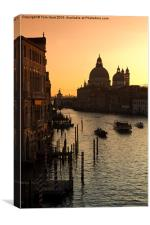 Ah Venice, Canvas Print