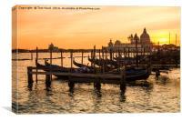 Venice Dusk, Canvas Print