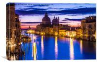 Venice in the Morning, Canvas Print