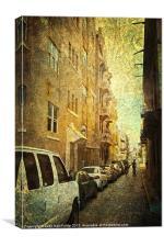 New Meets Old San Juan, Canvas Print