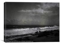 San Juan Shoreline, Canvas Print